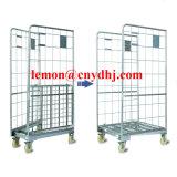 Тележка клетки завальцовки хранения ячеистой сети складывая стальная