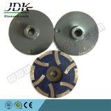 """4 de """" roue de cuvette de résine 6 segments"""