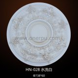 ビクトリア朝ポリウレタン華やかなPUの天井の円形浮彫りHn028