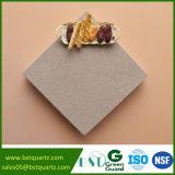 Dessus jaune de vanité de pierre de quartz d'Absorotion de l'eau inférieure pour la salle de bains