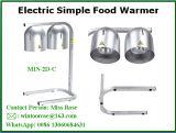 Handelsnahrungsmittelwärme-Lampen-Doppelbirnecountertop-Buffet-Nahrungsmittelgerichts-Gaststätten erstklassig
