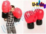 De in het groot Opblaasbare Grote Opblaasbare Bokshandschoenen van het Stuk speelgoed voor het In dozen doen van Hof /Gym