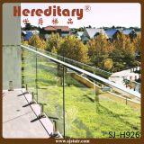 Edelstahl-Swimmingpool, der Grundplatte-Glaszapfen (SJ-H1356, einzäunt)