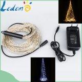 Indicatore luminoso decorativo bianco caldo del rame del mazzo del LED