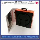 Casella impaccante di carta su ordinazione per l'imballaggio della cuffia avricolare di Bluetooth delle cuffie