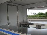 Tre carrelli mobili degli alimenti a rapida preparazione della via aperta della finestra di lati mini (SHJ-MFS250)