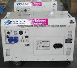 판매를 위한 작은 휴대용 공냉식 5kw 침묵하는 디젤 엔진 발전기
