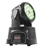Arandela de la pared 18X3w RGB LED de cabeza móvil Etapa de iluminación