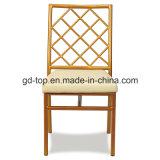 ホテルの鋼鉄宴会のホールの椅子