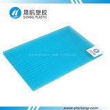 Feuille en plastique de toit de polycarbonate de Jumeau-Mur de matière première de Bayer