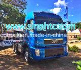 80tons de tractorhoofd van de Vrachtwagen 380HP van de tractor FAW 6X4 met motor 9.0
