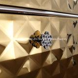 Governo di stanza da bagno di lusso personalizzato di vanità della stanza da bagno con colore dorato