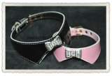 Crystal Pet Fashion Collars, Dog Bow-Tie Collar