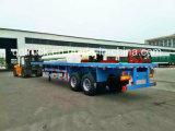 3 de BPW des essieux 40FT de conteneur de lit plat remorque semi