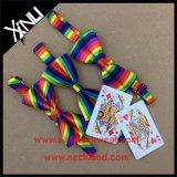 100%の人のための絹によって印刷される卸し売り豪華なちょうネクタイ