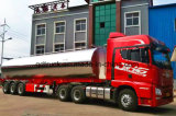 petrolero de poca potencia del líquido de la aleación de aluminio 45m3