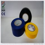 Bonne bande électrique diplôméee d'isolation de PVC d'adhésif en caoutchouc