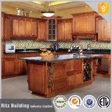 Mobília laminada do gabinete de cozinha da madeira compensada