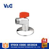 Угловой вентиль 2 дюймов пневматический латунный (VG-E12021)