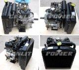 중국 Changchai 물에 의하여 냉각되는 V 쌍둥이 실린더 19HP 디젤 엔진 [EV80]