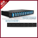 5 canali il LC IL UPC 1350-1430nm si raddoppiano modulo del multiplexor LGX della fibra CWDM OADM