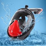 Schwimmen-tauchendes volles Gesichtsnorkel-Schablonen-Eignung-Gerät