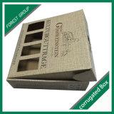 Верхний картон коробки подарка бумаги крышки Flip упаковывая