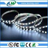 luz de la cinta de 5m m LED de DC12V SMD2835 120LEDs por el contador