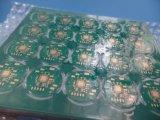 Ciegos a través de circuito impreso PCB 4 capas con oro de inmersión
