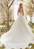 2017年の夜会服の花嫁のウェディングドレスCtd6831
