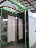 Linha de revestimento eletrostática de venda quente do pó para portas