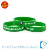 Wristband poco costoso all'ingrosso promozionale di stampa del silicone in alta qualità