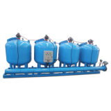آليّة خضربة ماء مجرى جانبيّ [سند فيلتر] في [كول توور] يتناقل ماء صناعيّ ([يلد])