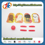 Jogo de atirador de plástico de brinquedos para crianças com cartão engraçadas