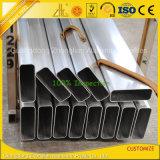 OEM Алюминий Алюминий Прямоугольная труба с Алюминиевый экструдированный профиль
