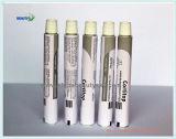Tubo plegable de aluminio de la pintura del empaquetado farmacéutico de piel del cuidado del ojo del ungüento blanco de la crema