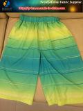 Tessuto di stampa di stirata di modi del poliestere 2 dell'ombra per la camicia/Beachwear