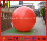 Riesiger aufblasbarer roter Helium-Ballon für Förderung
