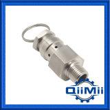 """Cerveza Mini-Type NPT de 1/4"""" de la válvula de alivio de presión AISI304/316L"""