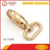 Gancho da pressão do metal da liga do zinco da alta qualidade para a decoração da bolsa