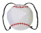saco de Drawstring do basebol do poliéster 210d com impressão personalizada do logotipo