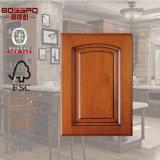 Guangdong Factory Porta de gabinete de cozinha de madeira usada (GSP5-001)