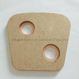 Tecla cerâmica da embreagem de Xjb para o uso da embreagem do trator