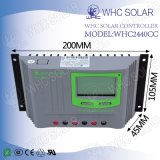 Ecnomical 40A de carga solar Controlador de Reconocimiento Automático
