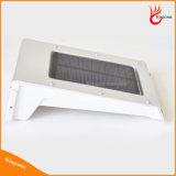Luz LED de pared exterior Luz Rechangable batería 20 LED PIR solar de la seguridad del sensor de luz al aire libre