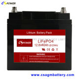 Fornecedor 12V50ah Lithium Iron Phosphate Battery for Power Storage