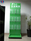 Heißer Verkaufs-doppelseitige Metallzeitschriften-Bildschirmanzeige-Zahnstange