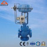 Válvula de controle 3-Way pneumática do fluxo (desviar/que mistura) (GAZJHX, ZJHQ)