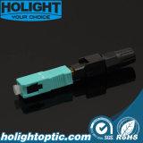 Разъем Sc/Upc Om3 агрегата оптического волокна FTTH быстро