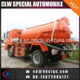 HOWO 8000L 10000L 12000Lの下水のトラックのタンカーの下水道の処分タンクトラック